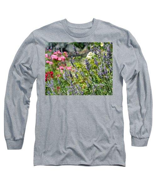 Lavender In Bloom Long Sleeve T-Shirt