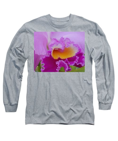 Long Sleeve T-Shirt featuring the photograph Lavender Orchid by Aimee L Maher Photography and Art Visit ALMGallerydotcom