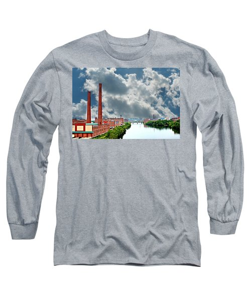 Lawrence Ma Skyline Long Sleeve T-Shirt
