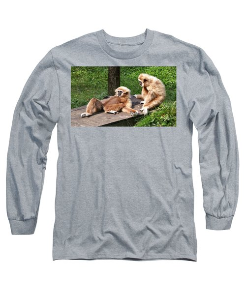 Lazy Life Long Sleeve T-Shirt