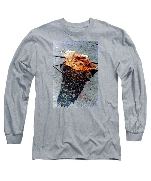 Long Sleeve T-Shirt featuring the photograph Leaf Lace In New Orleans Louisiana by Michael Hoard