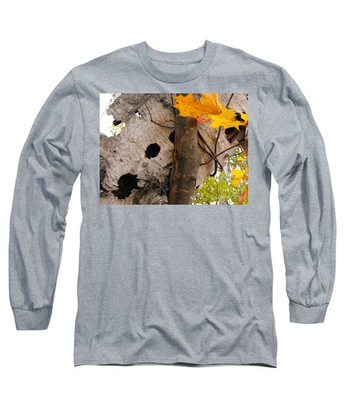Leaning Birch Long Sleeve T-Shirt
