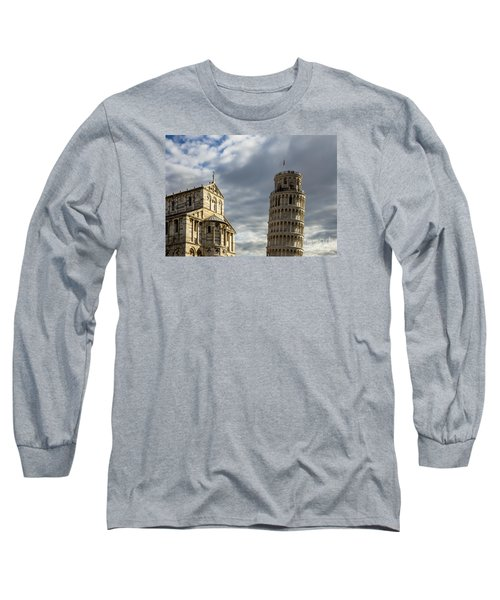 Leaning Tower And Duomo Di Pisa Long Sleeve T-Shirt