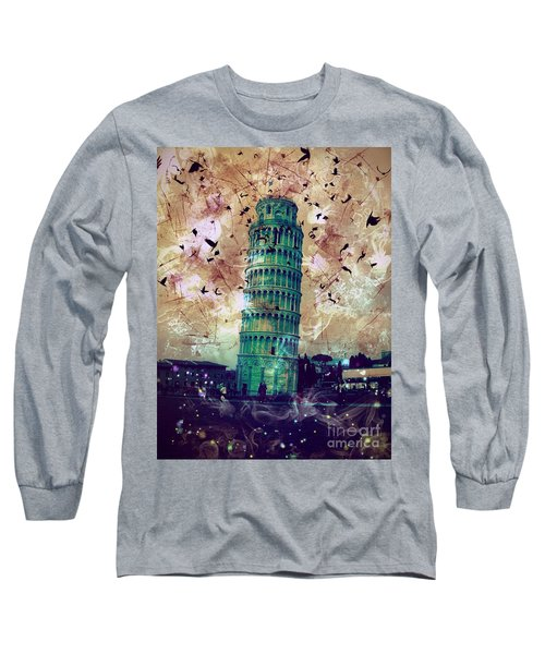 Leaning Tower Of Pisa 1 Long Sleeve T-Shirt