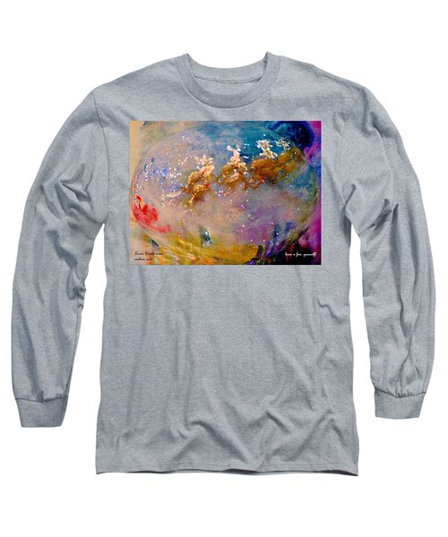 Leave Some Cookies For Santa Long Sleeve T-Shirt by Lisa Kaiser