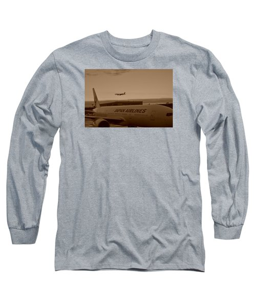 Leaving Japan Long Sleeve T-Shirt