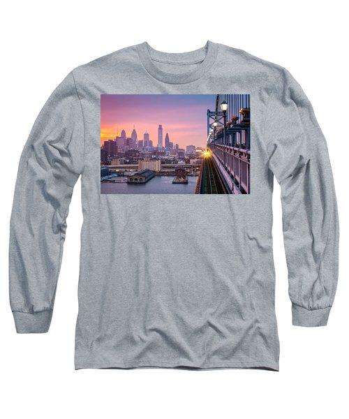 Leaving Philadelphia Long Sleeve T-Shirt