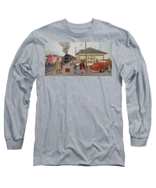 Leaving Sardinia 1944 Long Sleeve T-Shirt