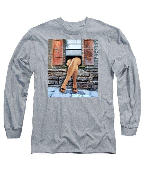 Legs Long Sleeve T-Shirt