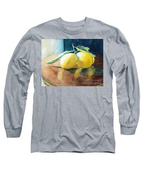 Lemon Reflections Long Sleeve T-Shirt
