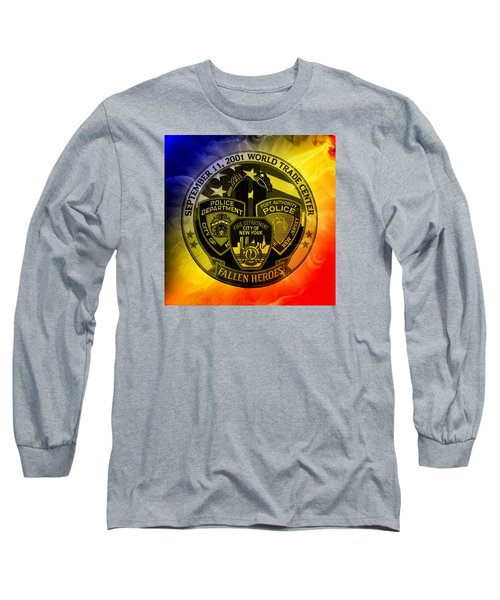 Long Sleeve T-Shirt featuring the mixed media Least We Forget 2 by Nick Kloepping
