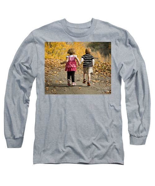 Let's Get Out Of Here Long Sleeve T-Shirt by Carol Lynn Coronios