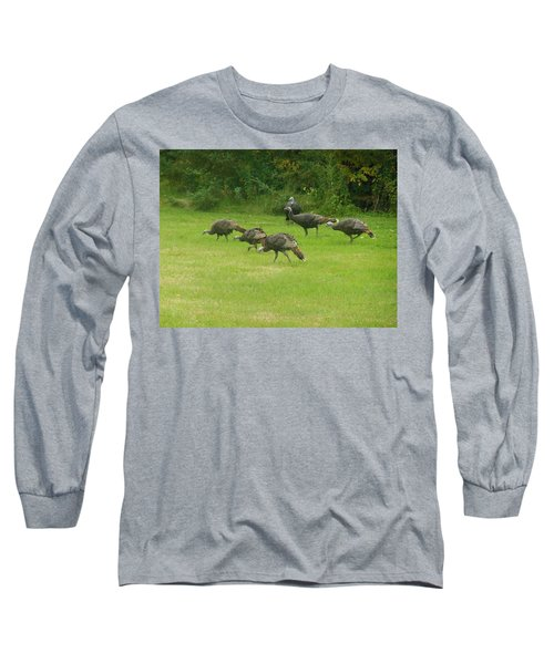 Let's Turkey Around Long Sleeve T-Shirt