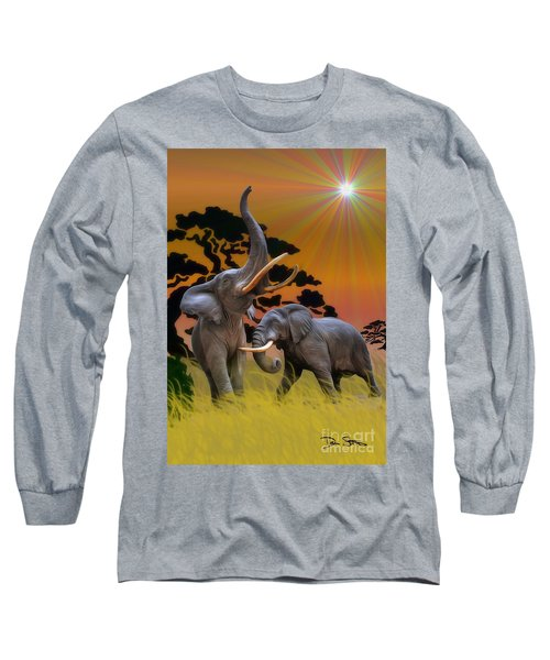 Leviathans Of The Land Long Sleeve T-Shirt