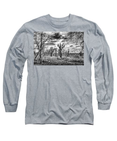 Long Sleeve T-Shirt featuring the photograph Levy Lake by Howard Salmon