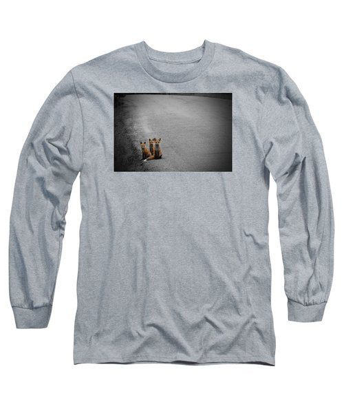 Life Is An Unknown Highway Long Sleeve T-Shirt by Jim Garrison