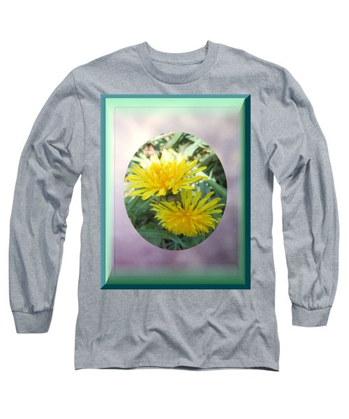 Life Is Made Up Of Dandelions Long Sleeve T-Shirt