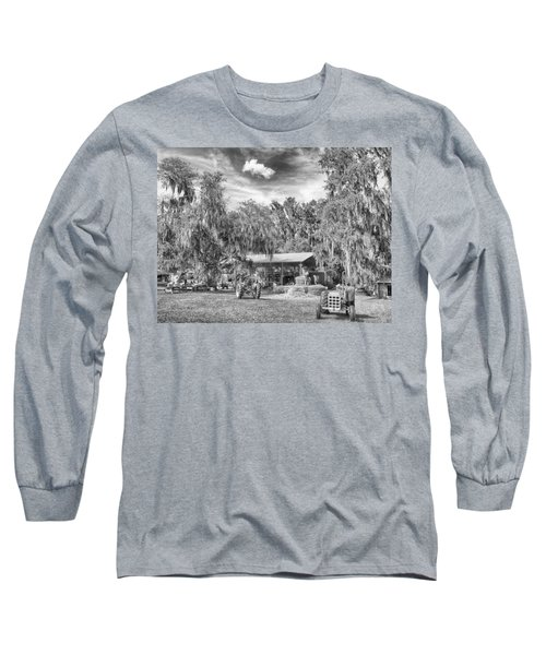 Long Sleeve T-Shirt featuring the photograph Life On The Farm by Howard Salmon