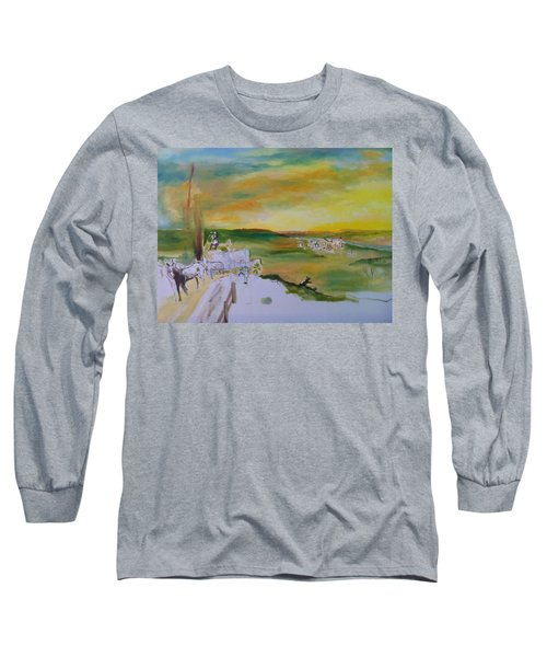 Light Long Sleeve T-Shirt by Mary Ellen Anderson