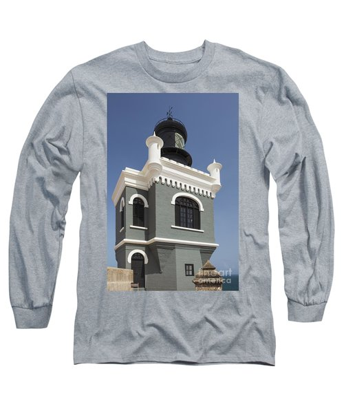 Lighthouse At El Morro Fortress Long Sleeve T-Shirt