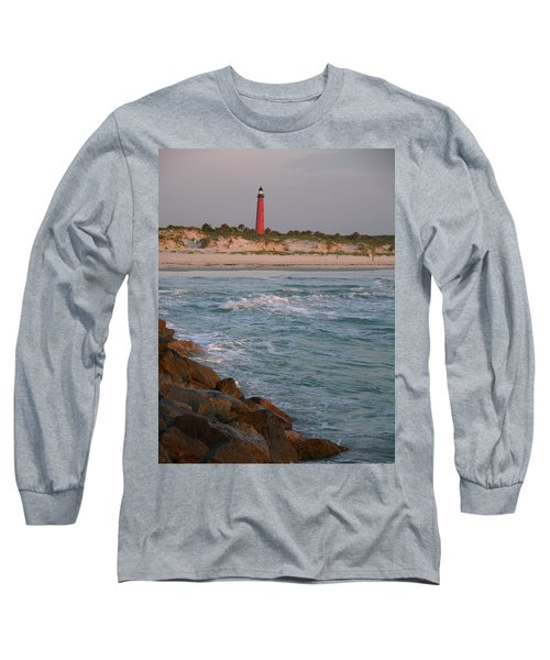 Lighthouse From The Jetty 2 Long Sleeve T-Shirt