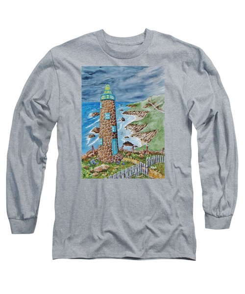 Lighthouse Long Sleeve T-Shirt by Katherine Young-Beck