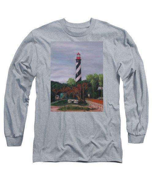 Lighthouse Morning Long Sleeve T-Shirt