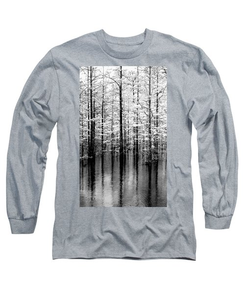 Lightning On The Wetlands Long Sleeve T-Shirt