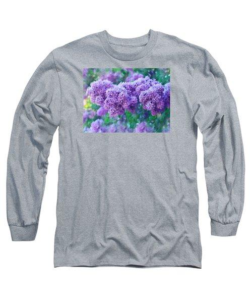 Lilac Cadenza Long Sleeve T-Shirt