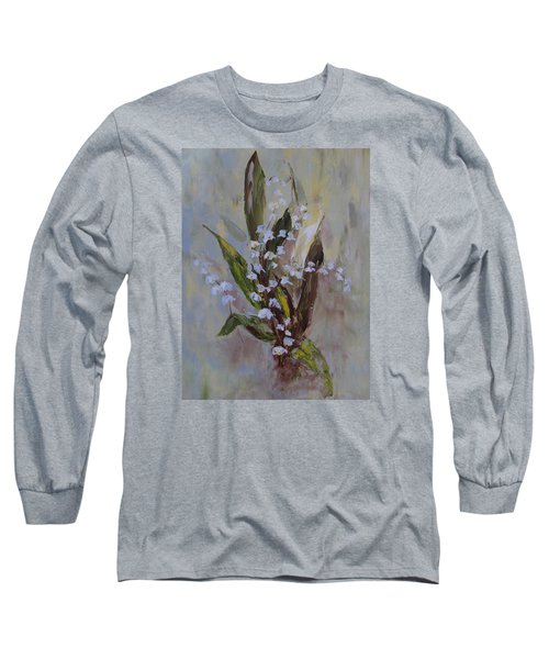 Lilies-of-the-valley Long Sleeve T-Shirt