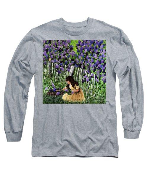 Lillian's Lilacs Long Sleeve T-Shirt