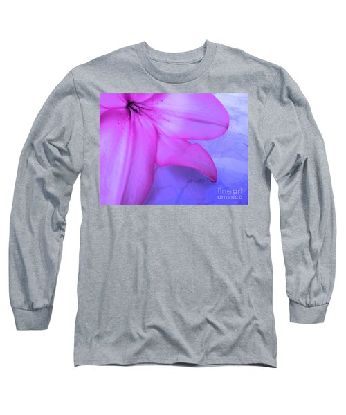 Lily - Digital Art Long Sleeve T-Shirt