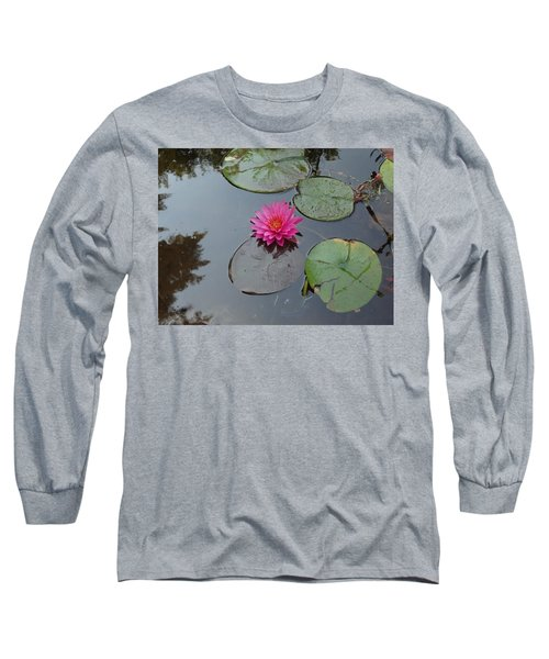 Long Sleeve T-Shirt featuring the photograph Lily Flower by Michael Porchik