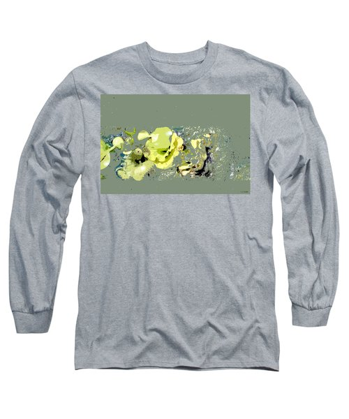 Lily Pads - Deconstructed Long Sleeve T-Shirt