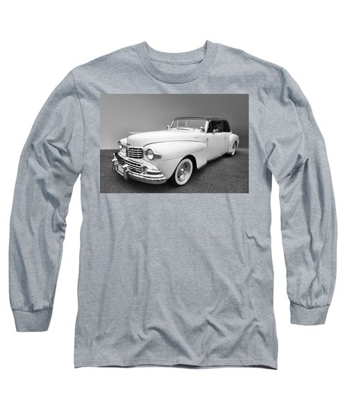 Long Sleeve T-Shirt featuring the photograph Lincoln Continental by Kristin Elmquist