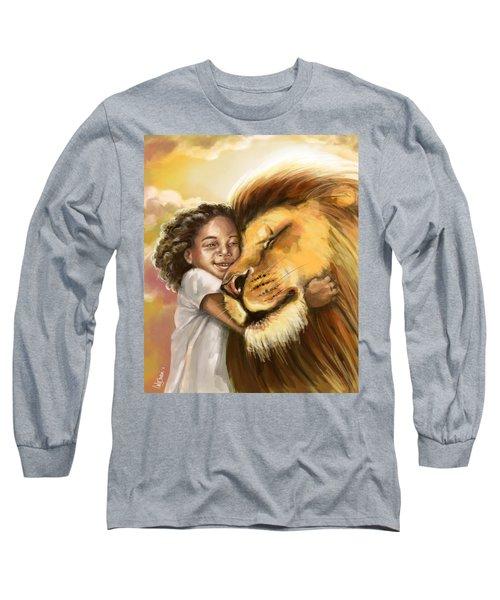 Lion's Kiss Long Sleeve T-Shirt