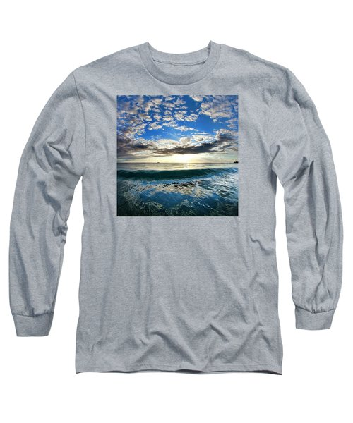 Blue Lava Long Sleeve T-Shirt