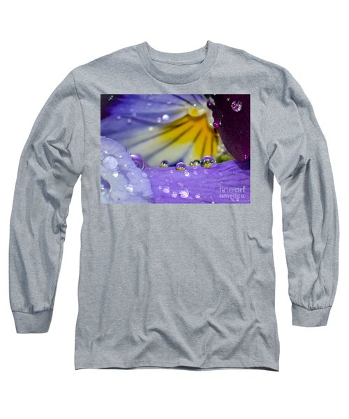 Little Faces Long Sleeve T-Shirt by Amy Porter