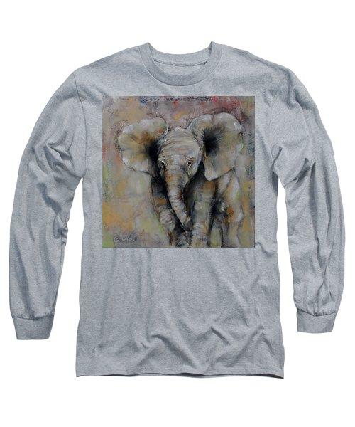 Little Giant Long Sleeve T-Shirt by Jean Cormier