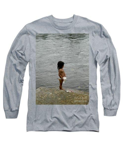 Little Laundress Long Sleeve T-Shirt