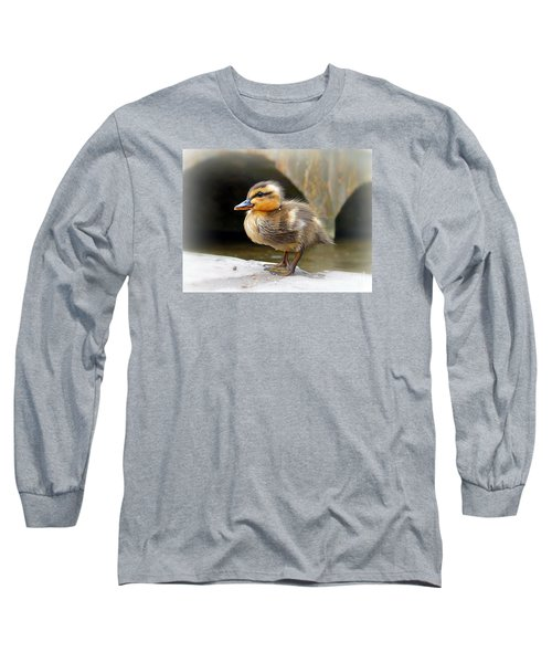 Little Quack Long Sleeve T-Shirt by Morag Bates