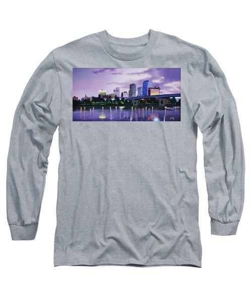 Little Rock Skyline Long Sleeve T-Shirt