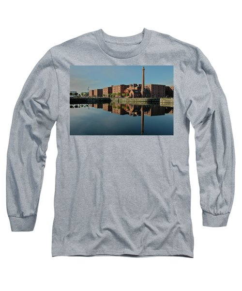 Liverpool Canning Docks Long Sleeve T-Shirt by Jonah  Anderson