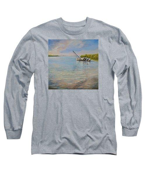 Locked Long Sleeve T-Shirt by AnnaJo Vahle