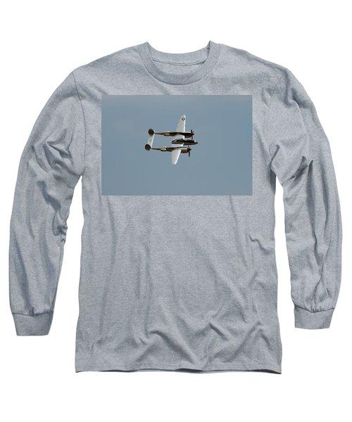 Lockheed P 38 Lightning Long Sleeve T-Shirt by Richard J Cassato