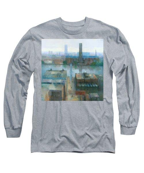 London Cityscape Long Sleeve T-Shirt