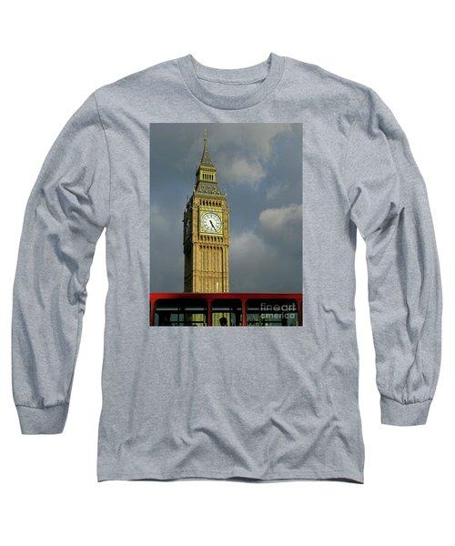 London Icons Long Sleeve T-Shirt by Ann Horn