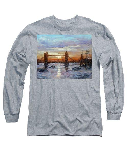 London Tower Bridge Long Sleeve T-Shirt