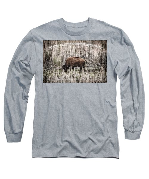 Lone Buffalo Long Sleeve T-Shirt