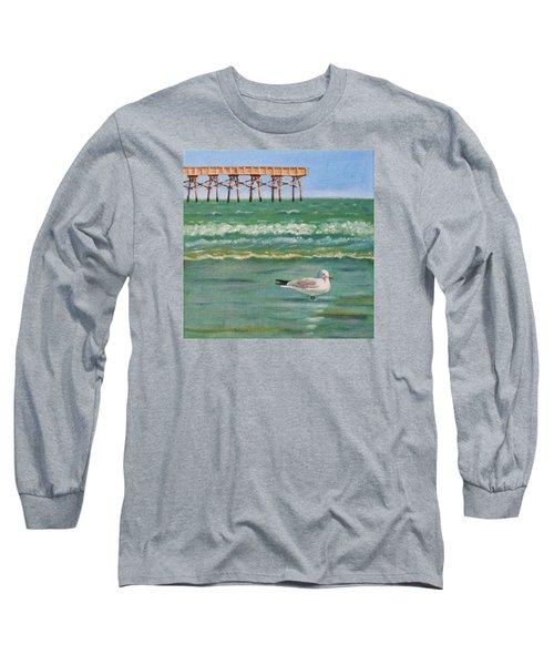 Lone Gull A-piers Long Sleeve T-Shirt
